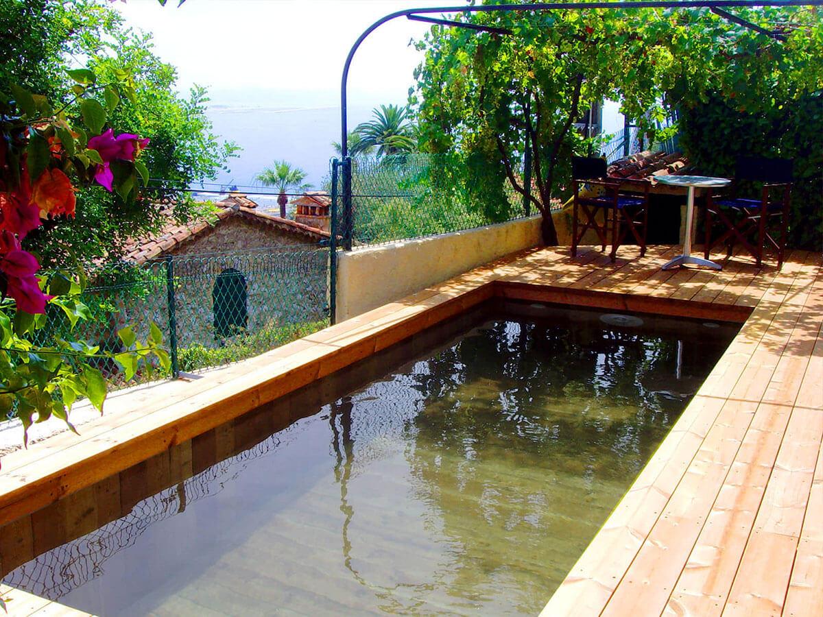 Fabrication de piscine en bois sur mesure dans les alpes for Piscine bois nice
