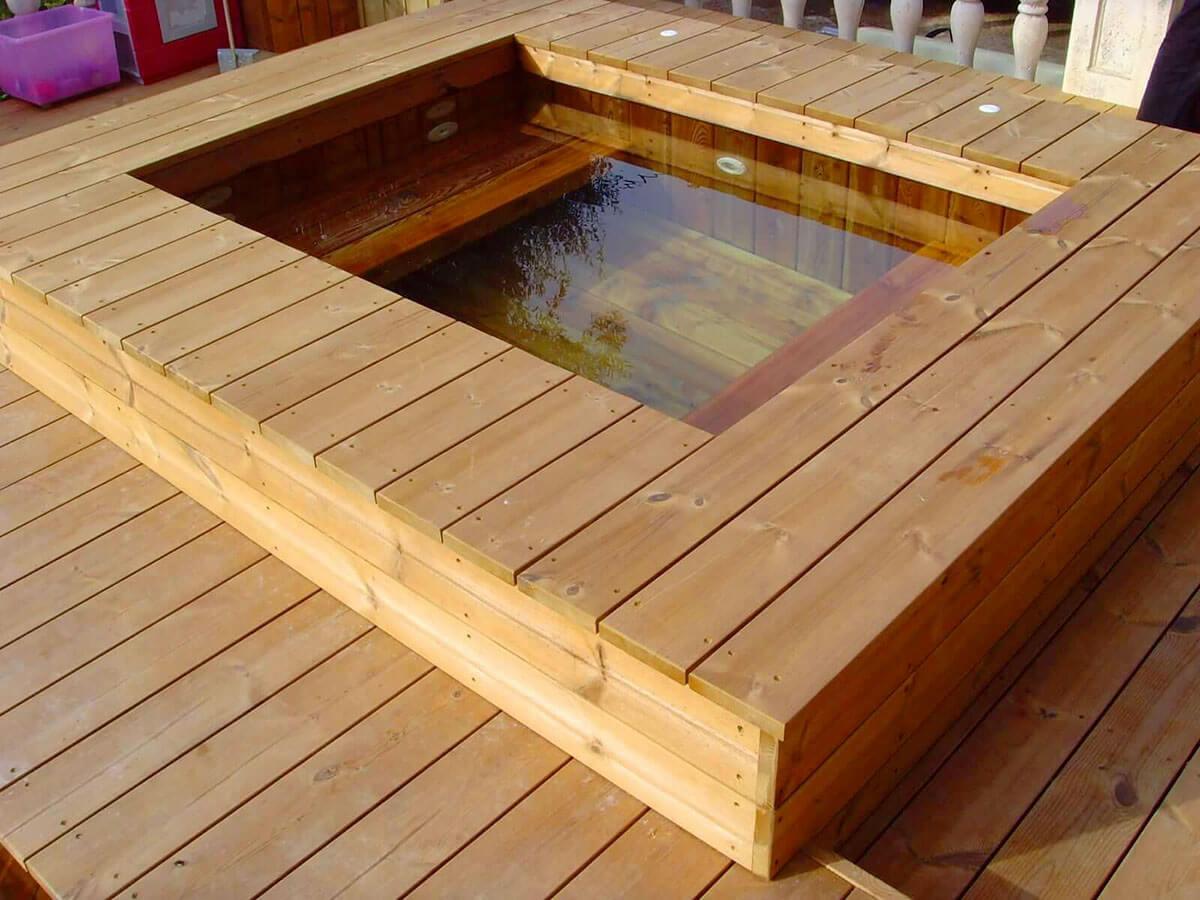 les meilleures essences de bois pour la fabrication d une piscine. Black Bedroom Furniture Sets. Home Design Ideas