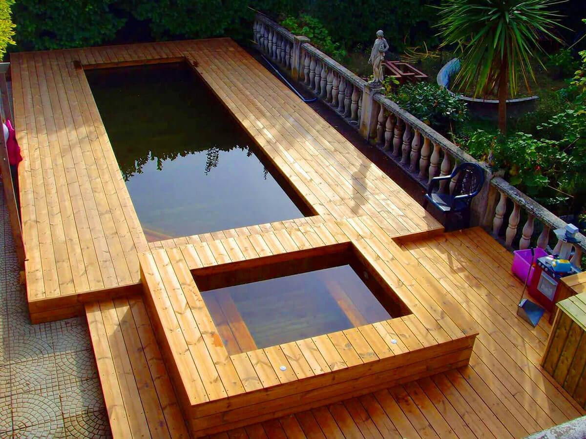 Comment entretenir une piscine en bois for Piscine semi enterre bois