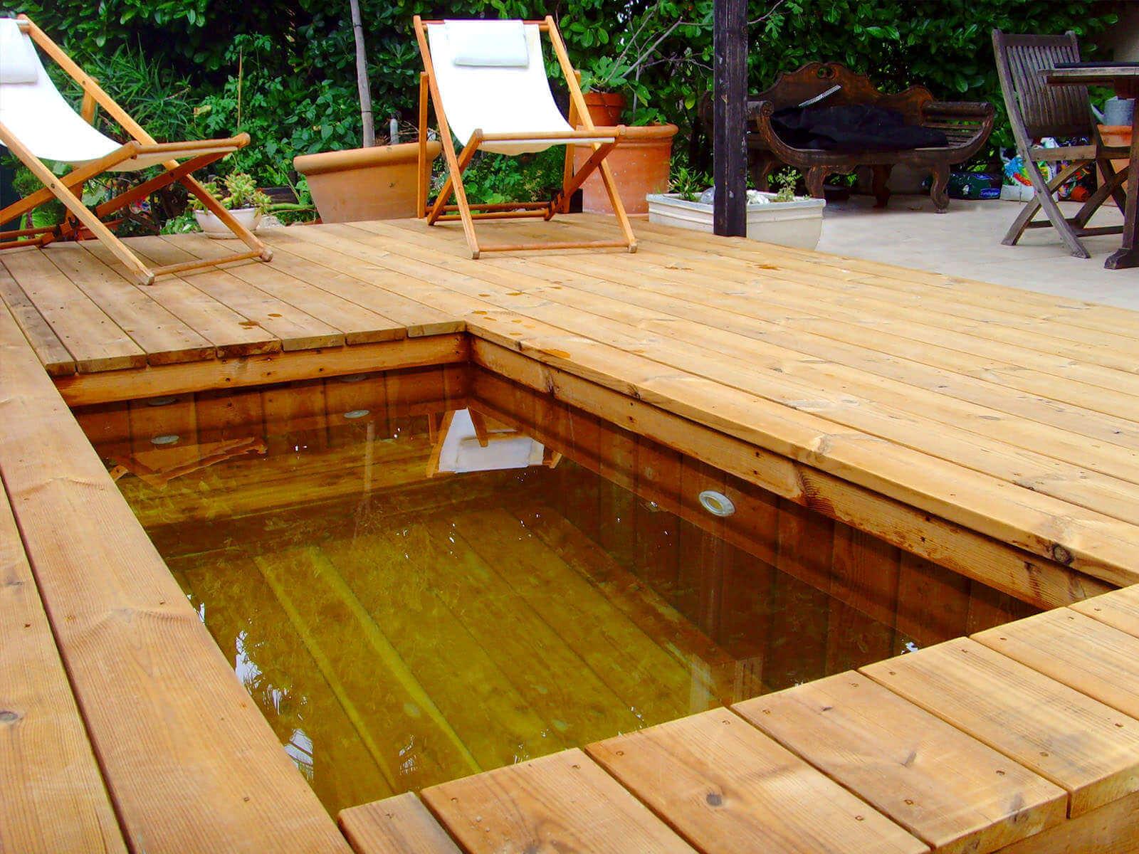 Fabricant piscine et jacuzzi spa sur mesure 100 bois for Petite piscine tubulaire rectangulaire