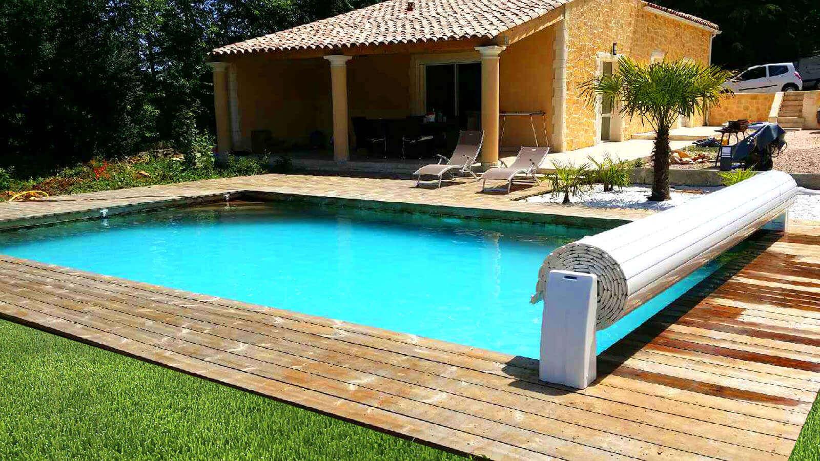 Galerie photos de piscines enterr es en bois for Piscine enterree bois