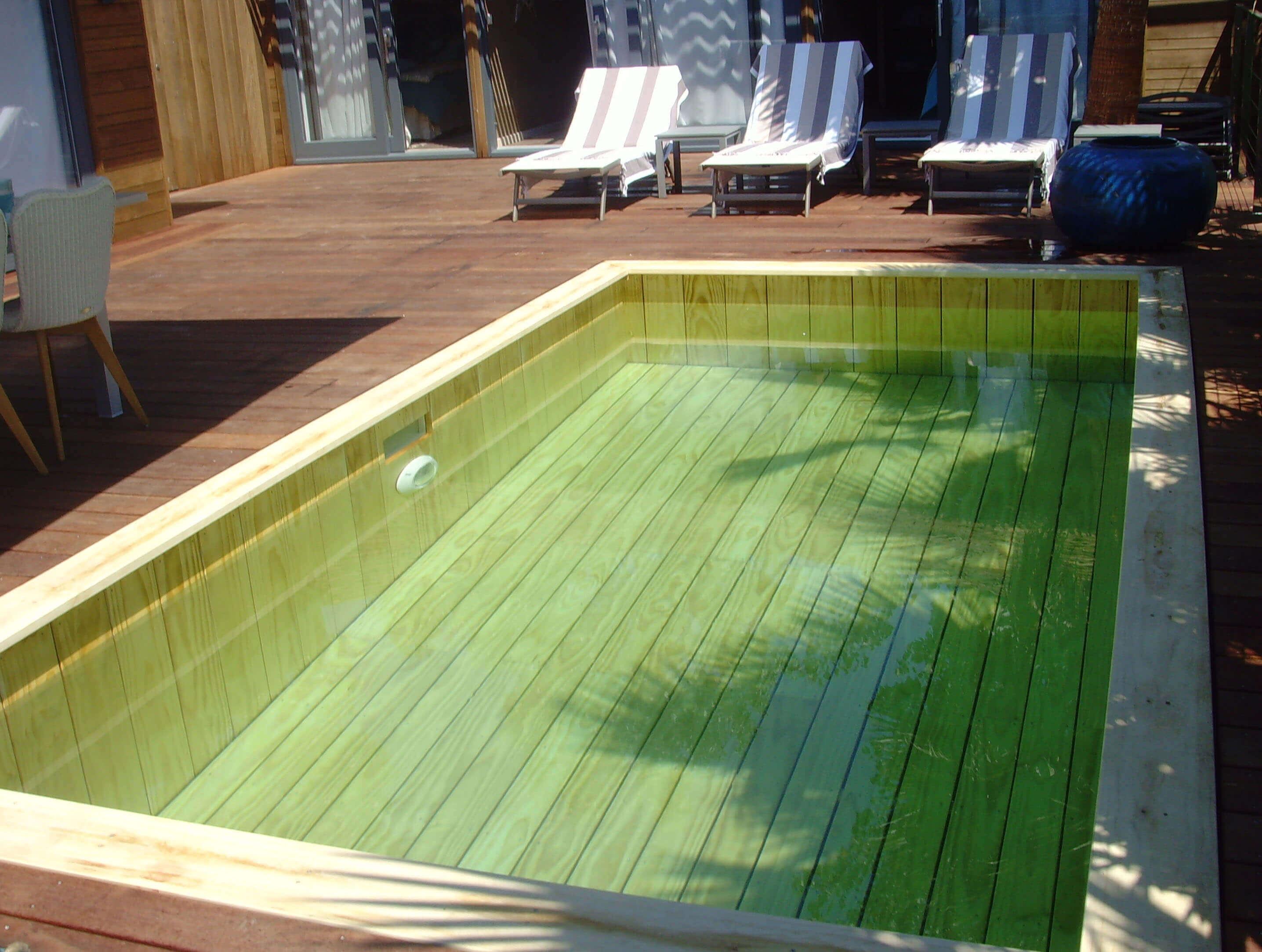 Fabricant piscine et jacuzzi spa sur mesure 100 bois for Piscine bois sans liner