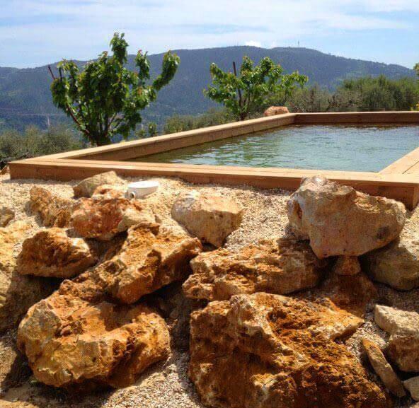 photos de piscines en bois hors sol sur mesure sans liner. Black Bedroom Furniture Sets. Home Design Ideas