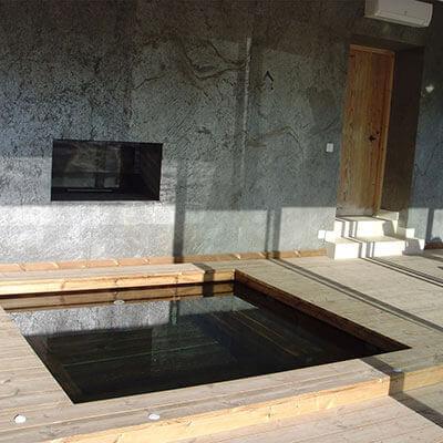 Fabricant piscine et jacuzzi spa sur mesure 100 bois for Piscine bois nice