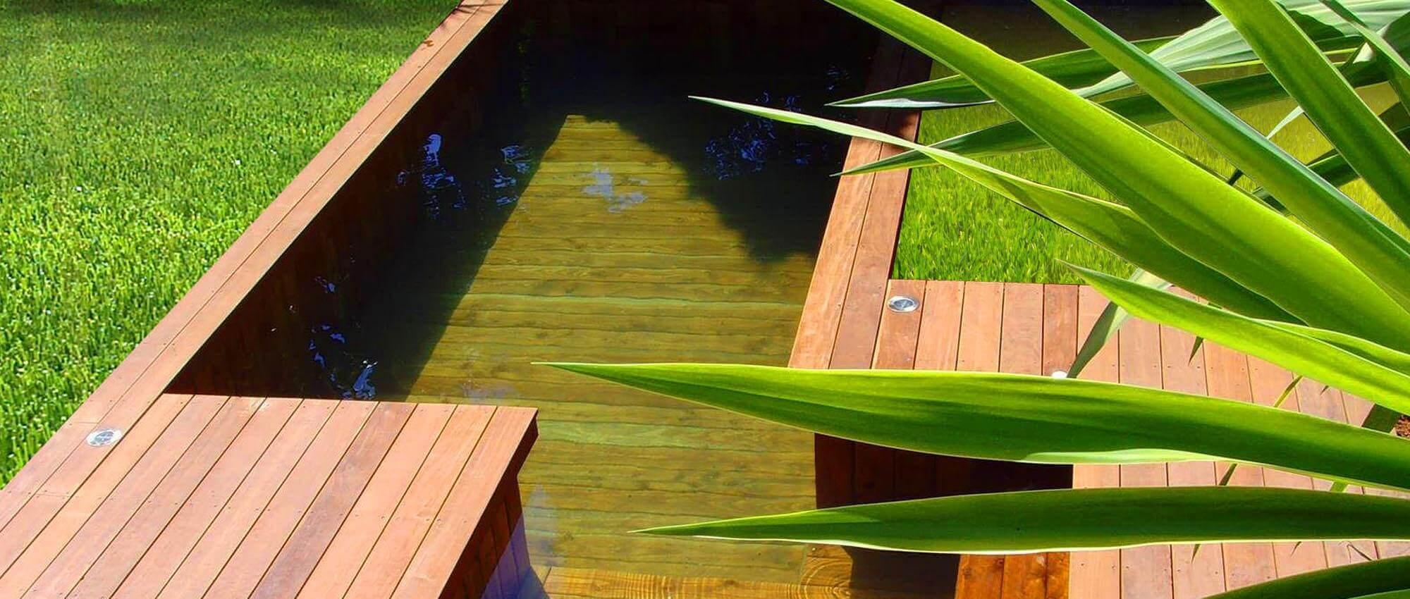 Fabricant piscine et jacuzzi spa sur mesure 100 bois toulon var - Liner sur mesure pas cher ...