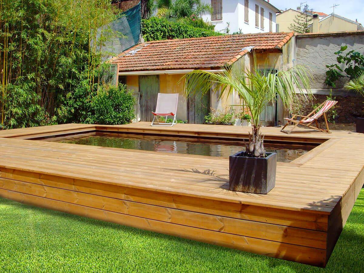 comment entretenir une piscine en bois. Black Bedroom Furniture Sets. Home Design Ideas