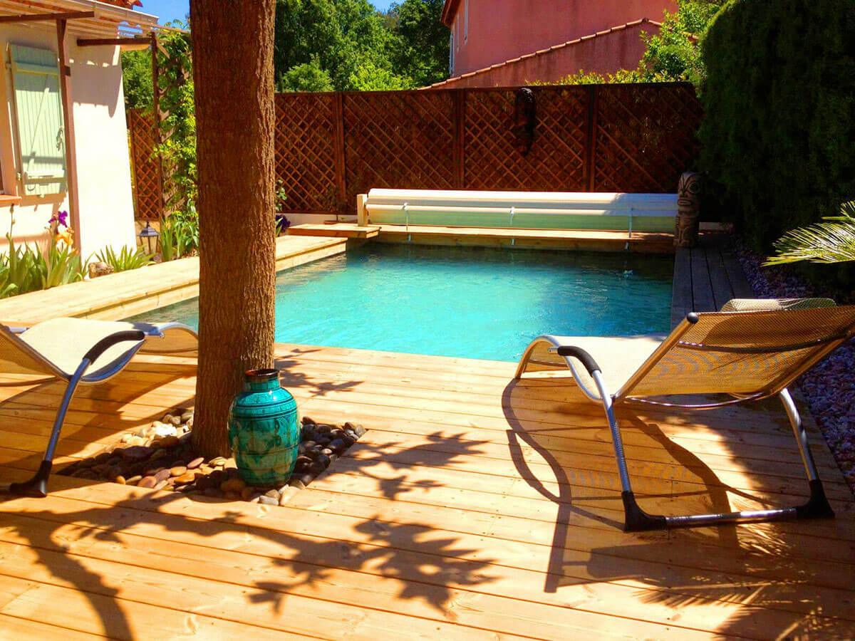 Fabricant de piscine en bois ent rr e nice cannes antibes for Piscine nice