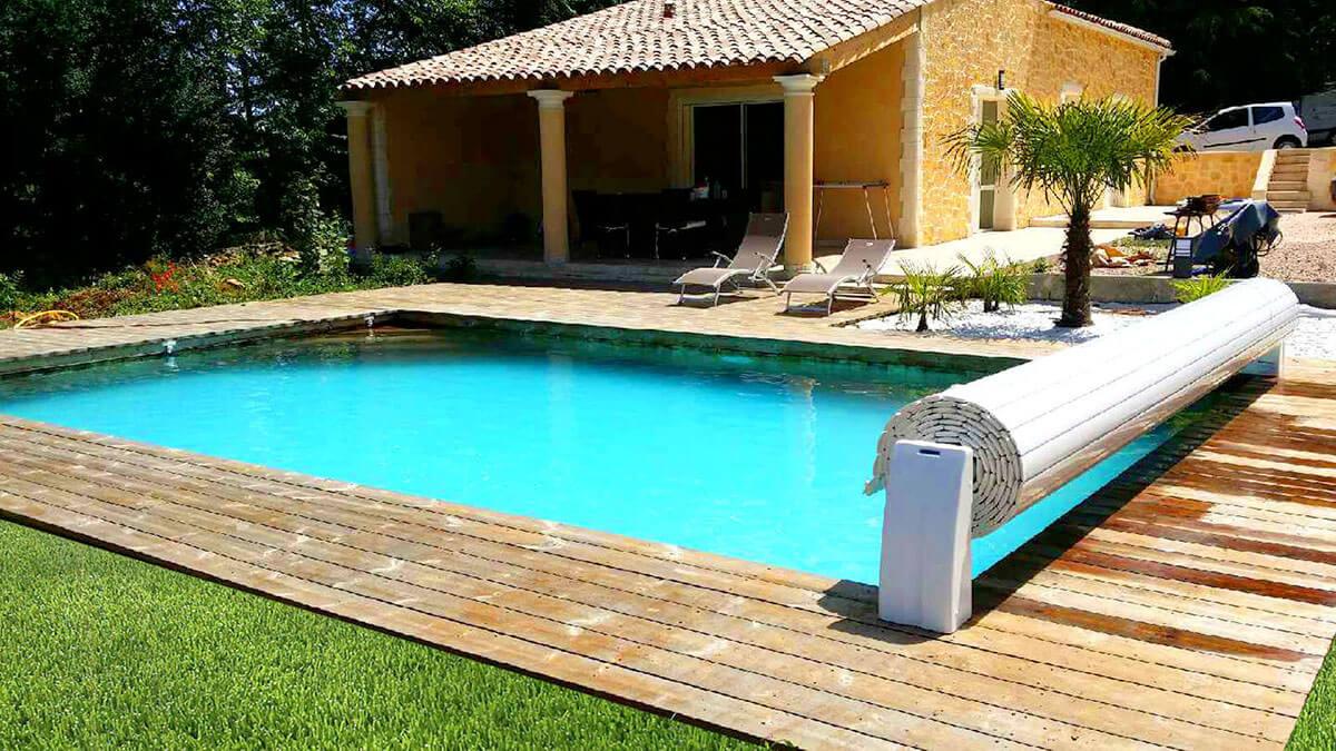 Nouvelle tendance d co maison la piscine enterr e en bois - Fabriquer une piscine en bois ...
