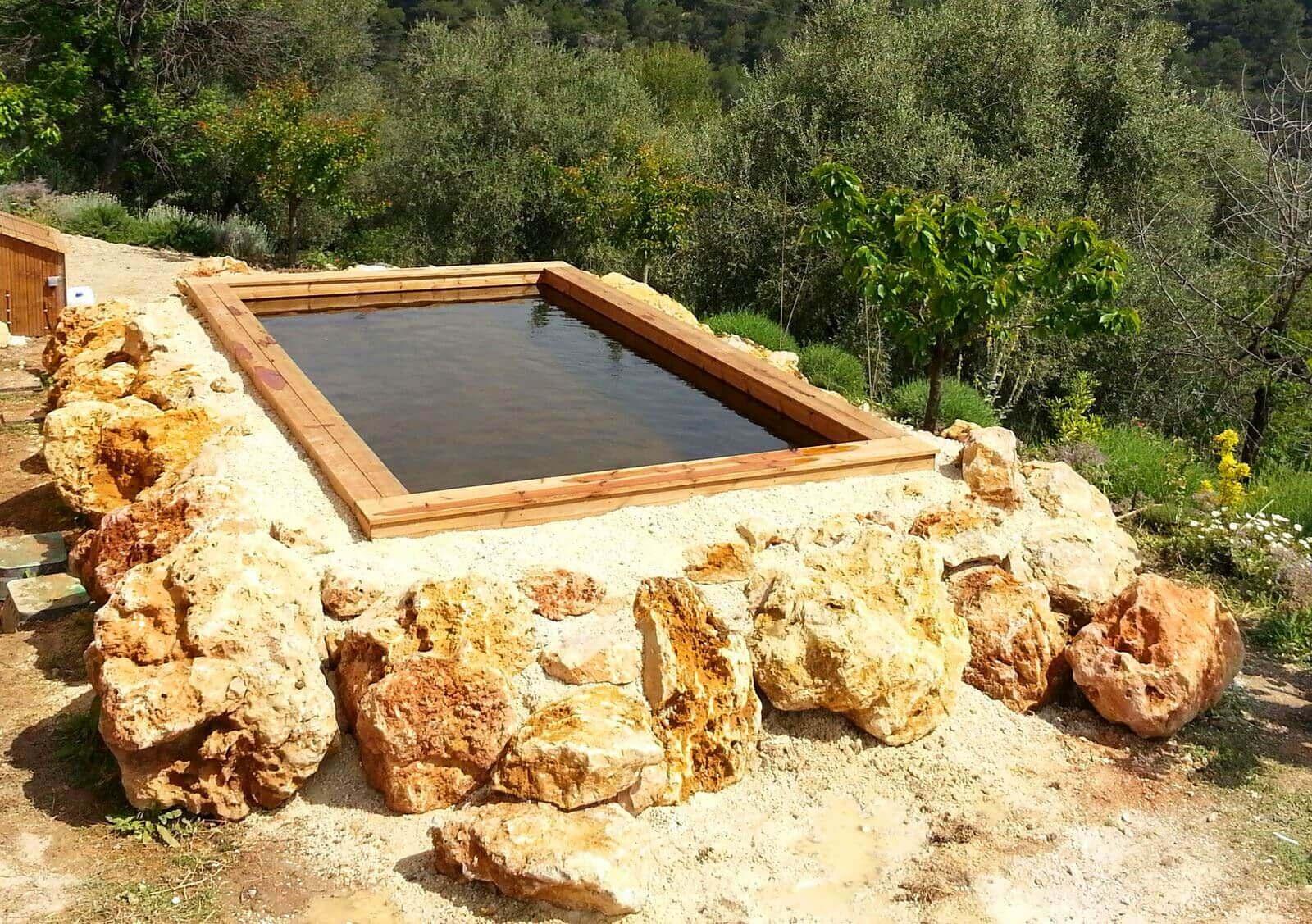 Voir Piscine Hors Sol photos de piscines en bois hors sol sur mesure, sans liner